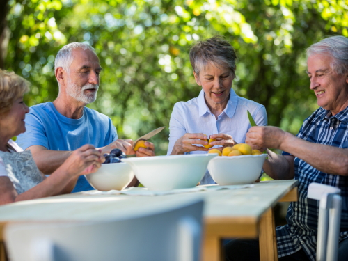 Nutrition and Kosher meals in senior living communities